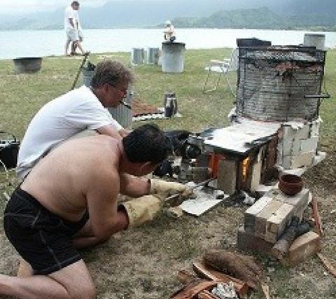 ハワイ陶芸イベントにて/2006